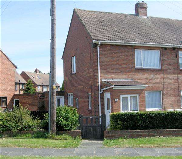 2 Bedrooms Semi Detached House for rent in Cambo Drive, Mayfield Glade, Cramlington