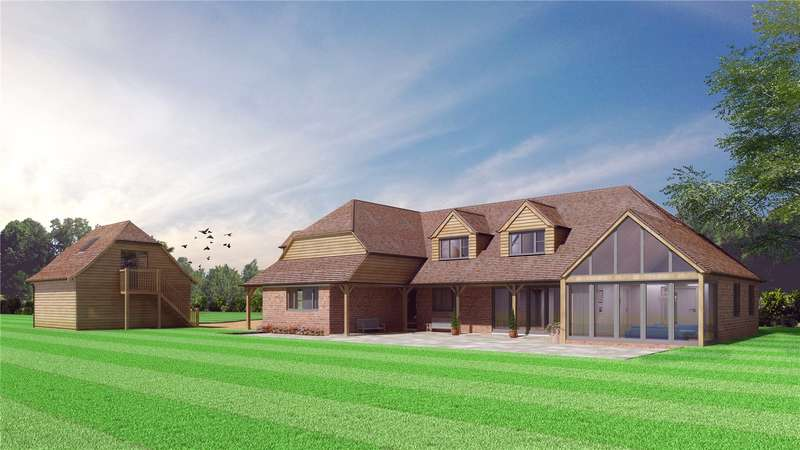 5 Bedrooms Detached House for sale in Thorrington Farm, Chapmans Town Road, Rushlake Green, East Sussex, TN21