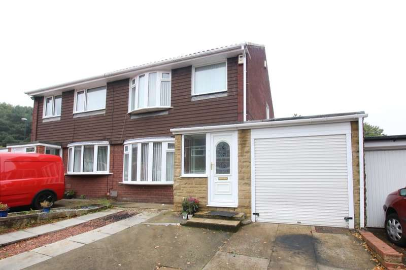 2 Bedrooms Semi Detached House for sale in Beaumont Drive, Washington, NE38