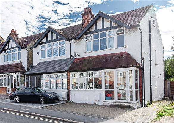 3 Bedrooms End Of Terrace House for sale in Malden Road, SUTTON, Surrey, SM3 8QY