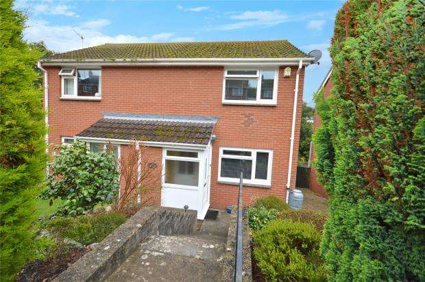 2 Bedrooms Semi Detached House for sale in Headway Rise, Teignmouth, Devon