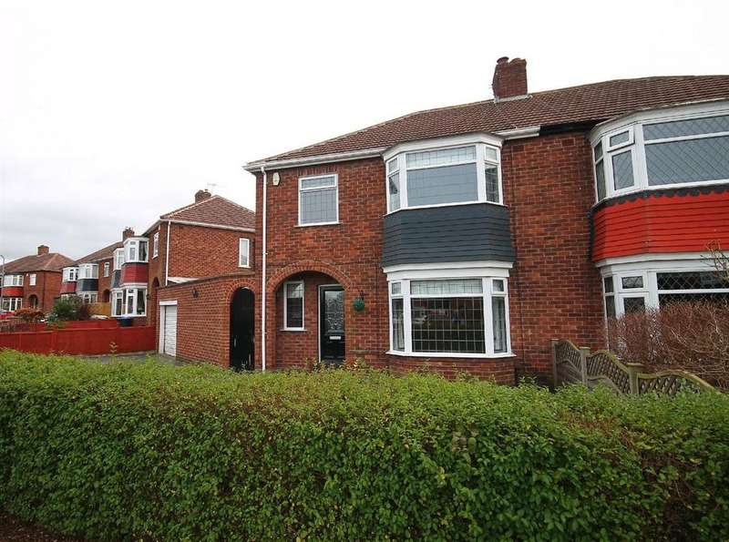 3 Bedrooms Semi Detached House for sale in Melbourne Close, Marton
