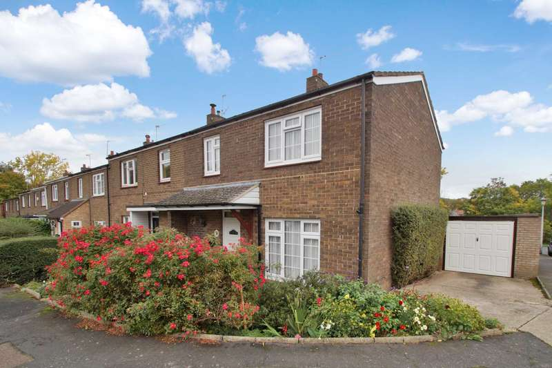 3 Bedrooms End Of Terrace House for sale in Datchworth Turn, Leverstock Green, Hemel Hempstead