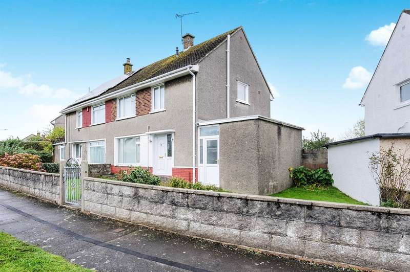 3 Bedrooms Semi Detached House for sale in Heol Onnen, North Cornelly