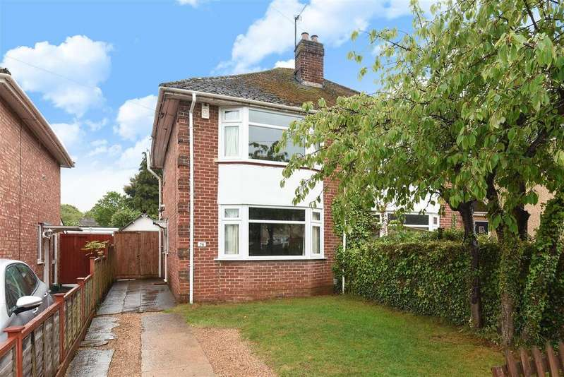 2 Bedrooms Semi Detached House for sale in Merewood Avenue, Headington, Oxford