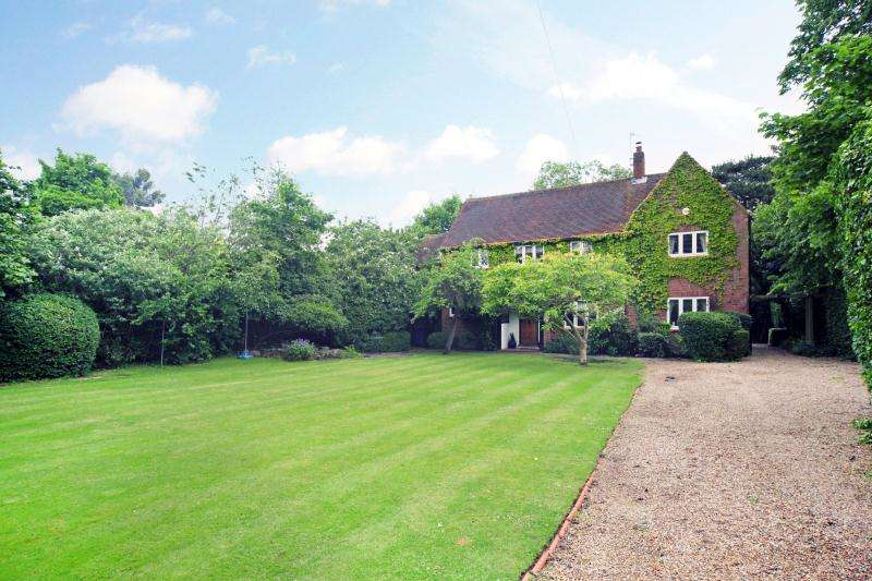 4 Bedrooms Detached House for sale in Newlands Drive, Maidenhead, Berkshire, SL6
