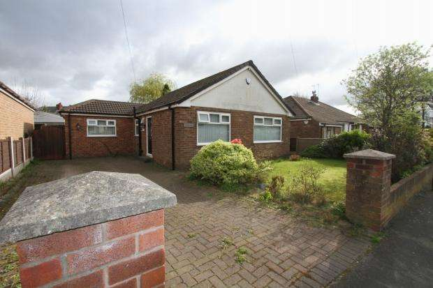 2 Bedrooms Detached Bungalow for sale in Buckfast Avenue Haydock St Helens