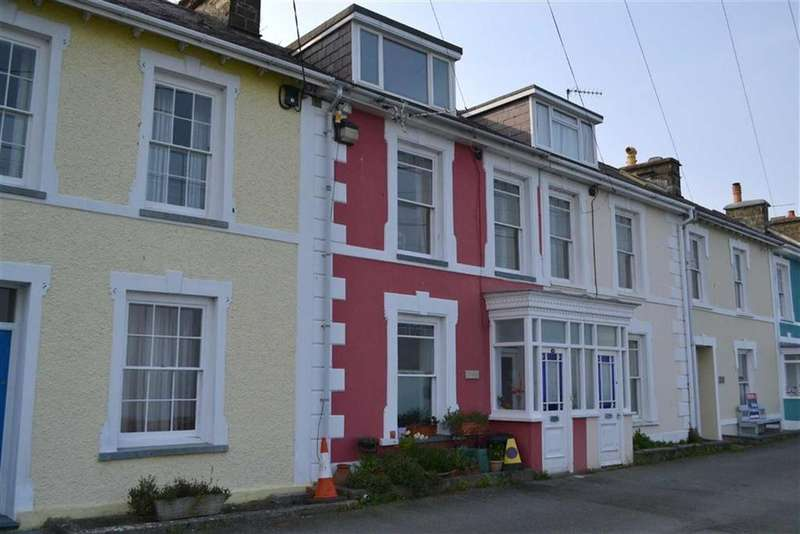 3 Bedrooms Terraced House for sale in Marine Terrace, New Quay, Ceredigion