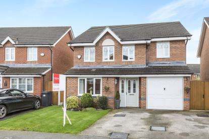 4 Bedrooms Detached House for sale in Larkspur Grove, Warrington, Cheshire