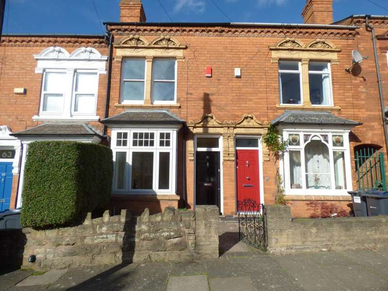 2 Bedrooms Terraced House for sale in Hartledon Road, Harborne, Birmingham, B17 0AA