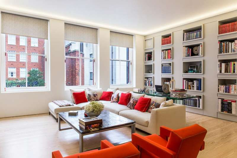 2 Bedrooms Flat for sale in South Audley Street, Mayfair, London, W1K