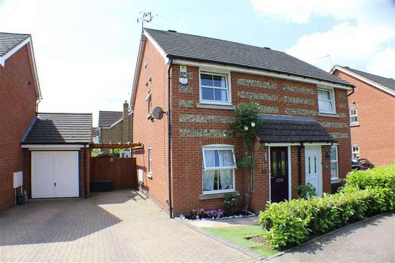 2 Bedrooms Semi Detached House for sale in Puddingstone Drive, St Albans, Hertfordshire