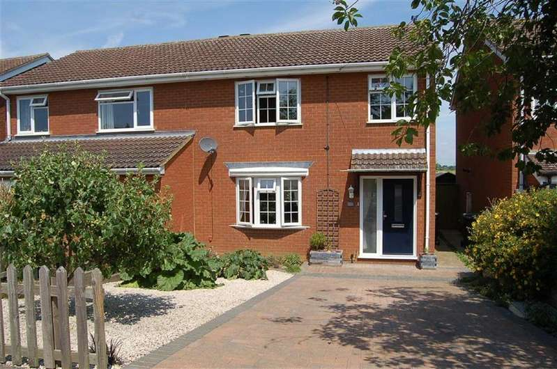 3 Bedrooms Semi Detached House for sale in East Road, Langford, Bedfordshire