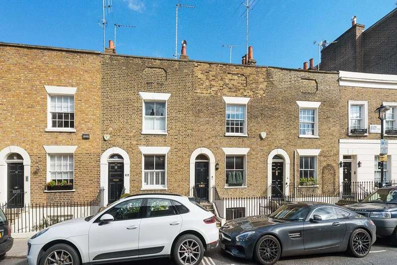 2 Bedrooms Terraced House for sale in Bourne Street, London, SW1W