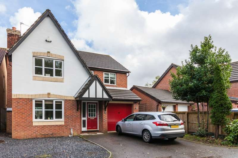 4 Bedrooms Detached House for sale in Sutton Grove, Cardiff, Glamorgan, CF23