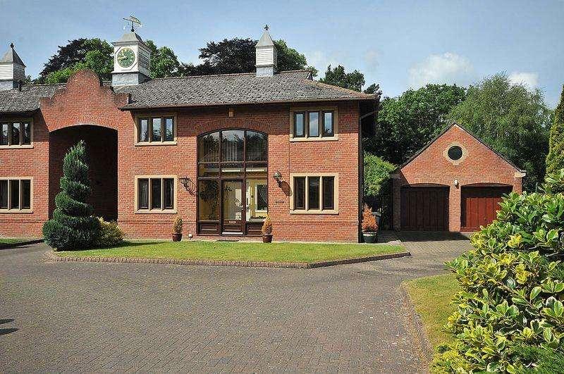 4 Bedrooms Link Detached House for sale in Oakmere Hall, Oakmere