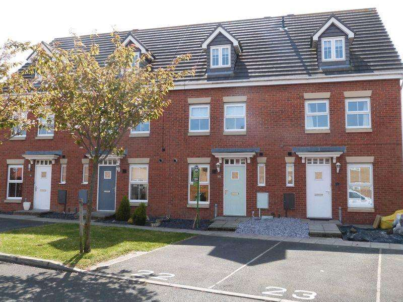 3 Bedrooms Terraced House for sale in Manor Court, Newbiggin-By-The-Sea, Three Bedroom Terraced House