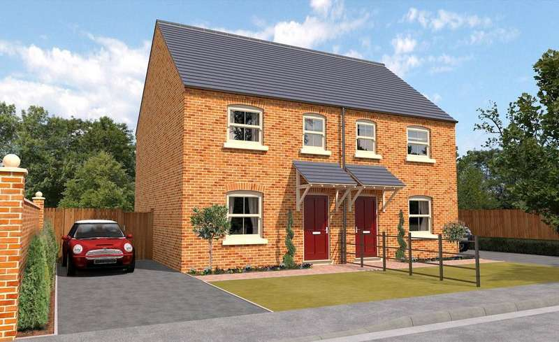 3 Bedrooms Semi Detached House for sale in The Steeples, Heckington, NG34