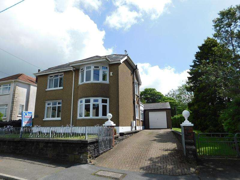 3 Bedrooms Detached House for sale in Plas Road, Rhos, Pontardawe.