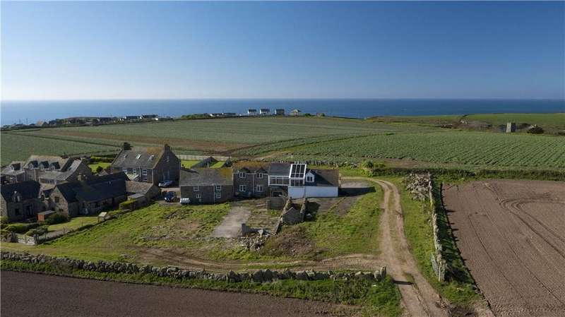 4 Bedrooms Semi Detached House for sale in Porthcurno, Churchtown, Penzance, Cornwall, TR19