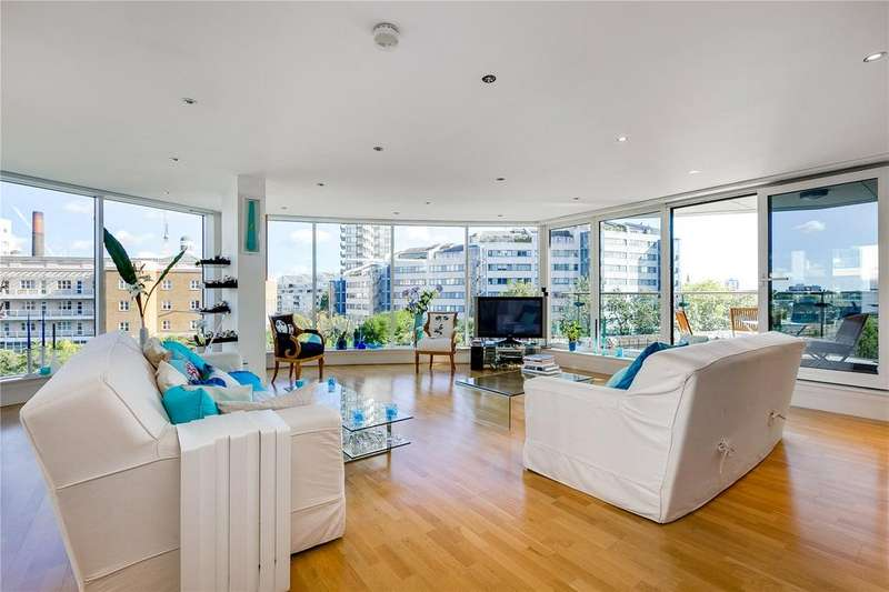 4 Bedrooms Flat for sale in Chelsea Vista, The Boulevard, Imperial Wharf, London