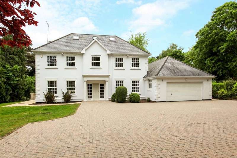 5 Bedrooms Detached House for sale in Gorse Hill Road, Virginia Water, Wentworth, Surrey, GU25
