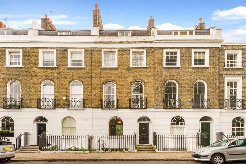 6 Bedrooms Terraced House for sale in Gibson Square, Islington, London
