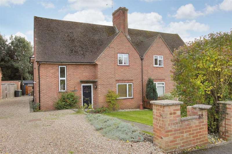 4 Bedrooms Semi Detached House for sale in Pound Road, Overton