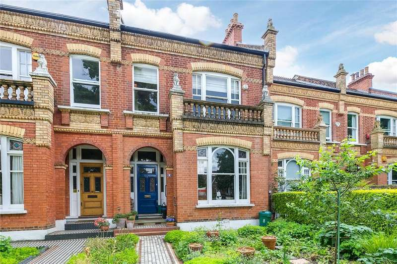 4 Bedrooms Terraced House for sale in The Crescent, Barnes, London