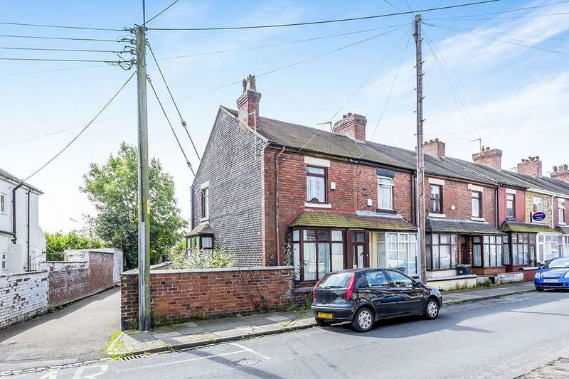 2 Bedrooms Terraced House for sale in Buxton Street, Stoke-On-Trent, ST1