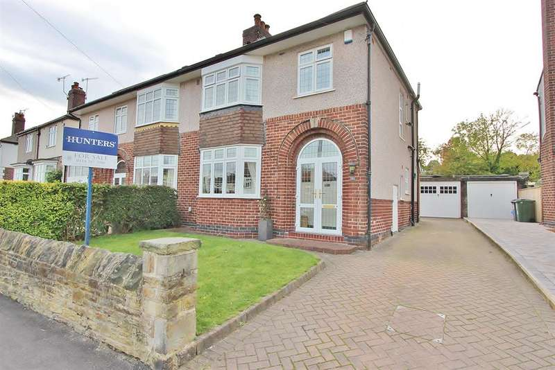 3 Bedrooms Semi Detached House for sale in Springfield Avenue, Millhouses, Sheffield, S7 2GA
