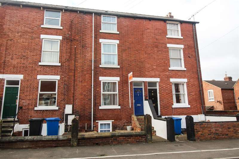 4 Bedrooms Town House for sale in Albion Road, Chesterfield