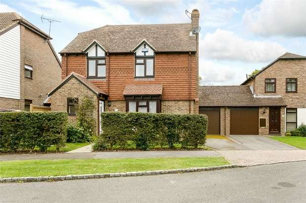 4 Bedrooms Detached House for sale in Gybbons Road, Rolvenden, Cranbrook, Kent