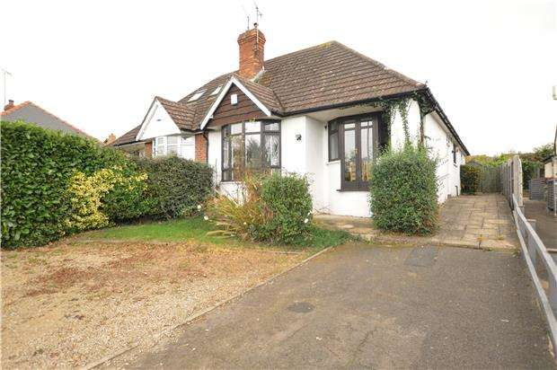 3 Bedrooms Semi Detached Bungalow for sale in Shurdington Road, LECKHAMPTON, GL53 0NJ