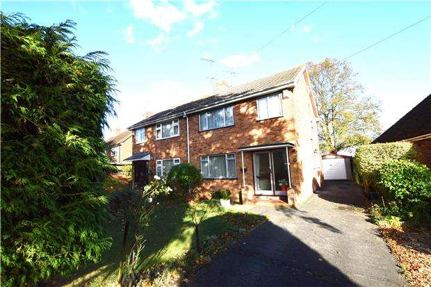3 Bedrooms Semi Detached House for sale in Brooklyn Road, CHELTENHAM, Gloucestershire, GL51 8DT
