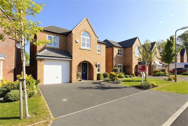 4 Bedrooms Detached House for sale in Henka Road, Penley, LL13