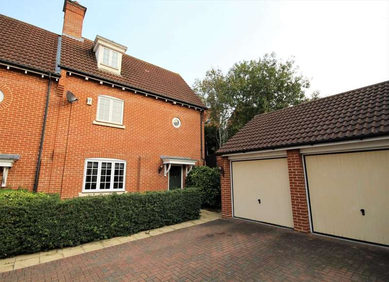 3 Bedrooms Semi Detached House for sale in Vaughan Williams Way, Brentwood