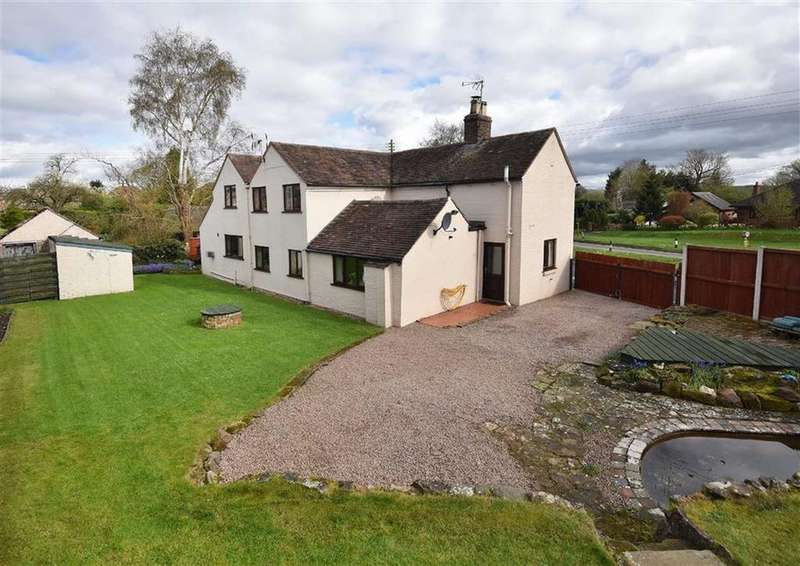 4 Bedrooms Detached House for sale in Crown House, Eardington, Bridgnorth, Shropshire, WV16