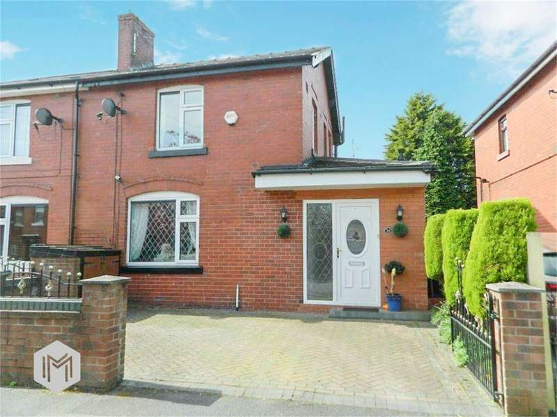 2 Bedrooms Semi Detached House for sale in Whitehead Crescent, Bury, BL8