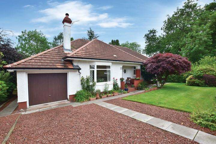 5 Bedrooms Detached Bungalow for sale in 34 Campsie Drive, Milngavie, G62 8HY
