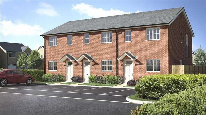 2 Bedrooms Terraced House for sale in Plot 2, Meadowdale, Barley Meadows, Llanymynech, Shropshire, SY22