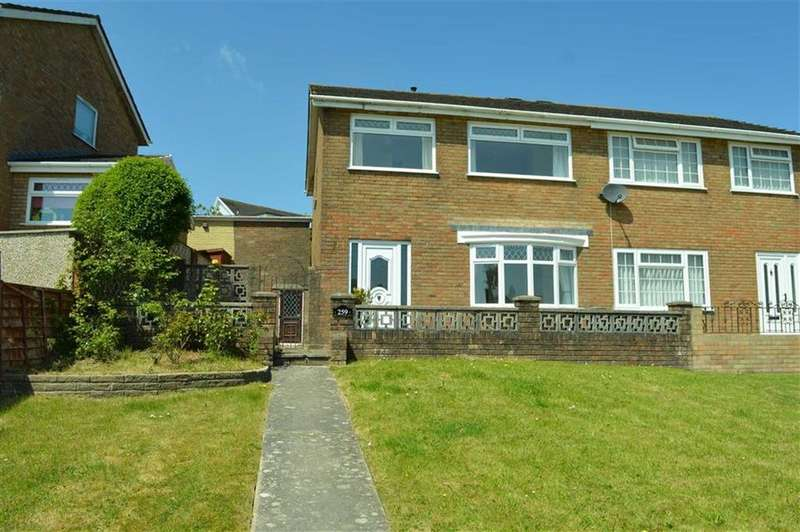 3 Bedrooms Semi Detached House for sale in Frampton Road, Swansea, SA4