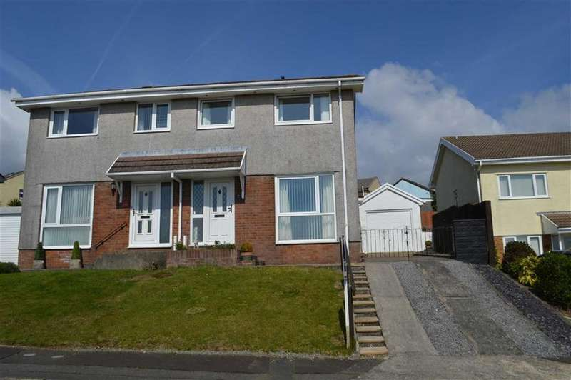 3 Bedrooms Semi Detached House for sale in Rustic Close, Swansea, SA2