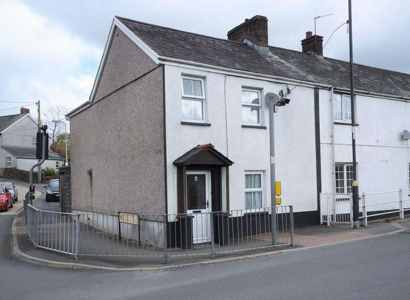 3 Bedrooms End Of Terrace House for sale in 4 Royal Oak Terrace, Johnstown, Carmarthen SA31 3NA