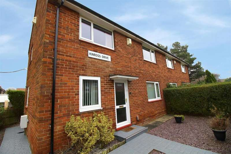 3 Bedrooms Semi Detached House for sale in Kinross Drive, North Kenton, Newcastle Upon Tyne