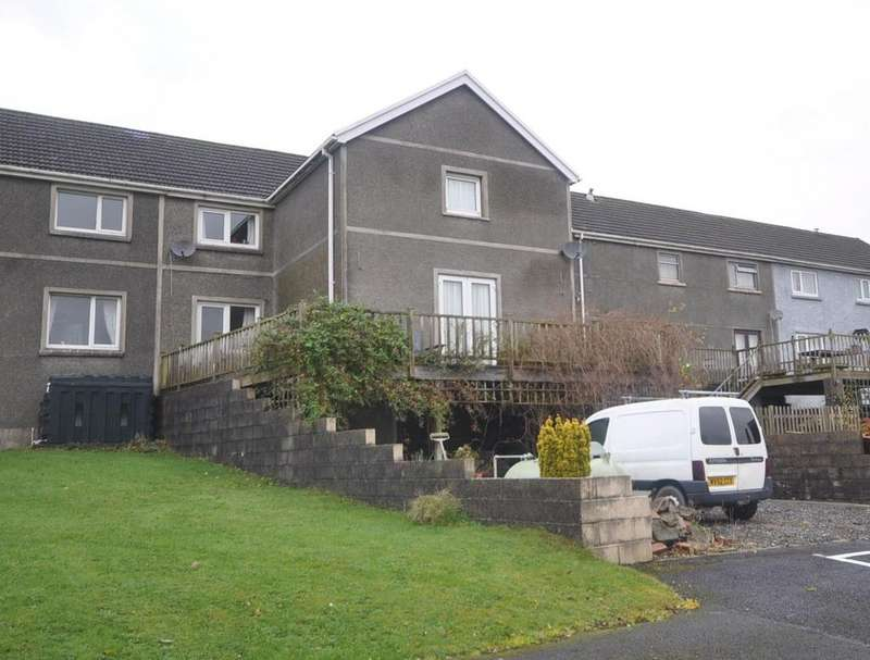 4 Bedrooms Semi Detached House for sale in 8 Lon Cowin, Bancyfelin, Carmarthen SA33 5NF