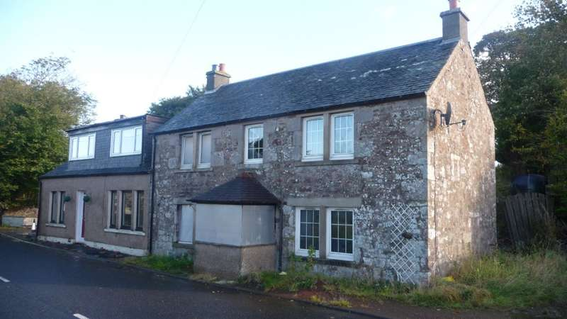 3 Bedrooms Semi Detached House for sale in The Old School House Biggar Road, Lanark, ML11