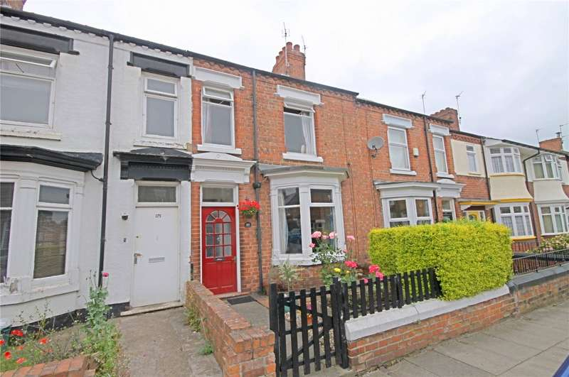 3 Bedrooms Terraced House for sale in Greenbank Road, Darlington, Co Durham, DL3