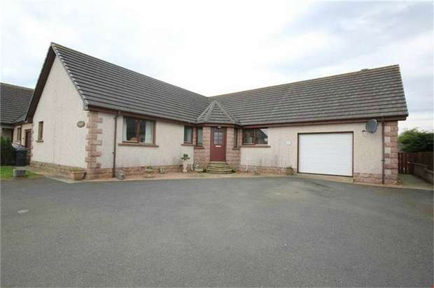 3 Bedrooms Detached Bungalow for sale in New Deer, Turriff, Aberdeenshire