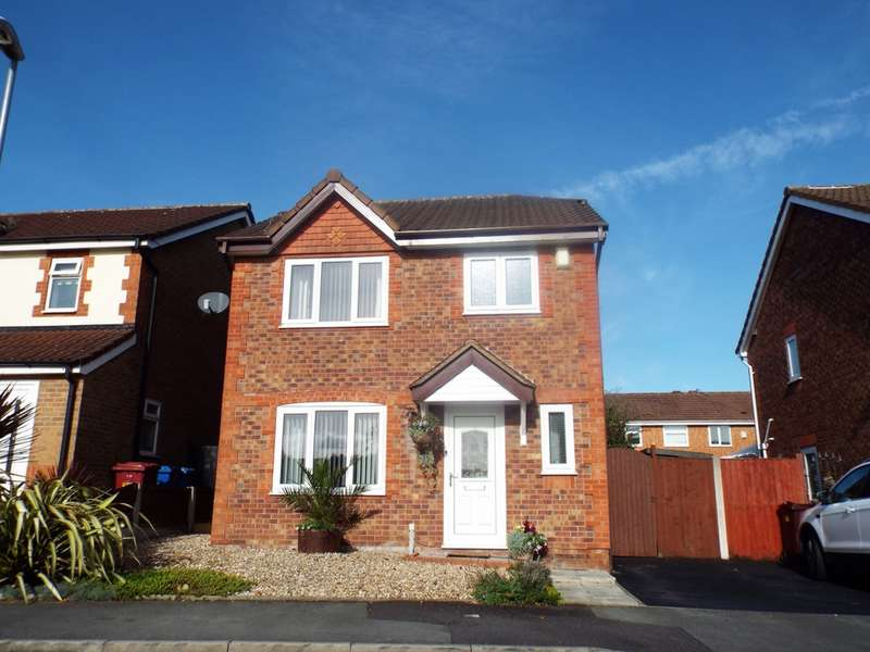 3 Bedrooms Detached House for sale in Turnstone Drive, Halewood, L26